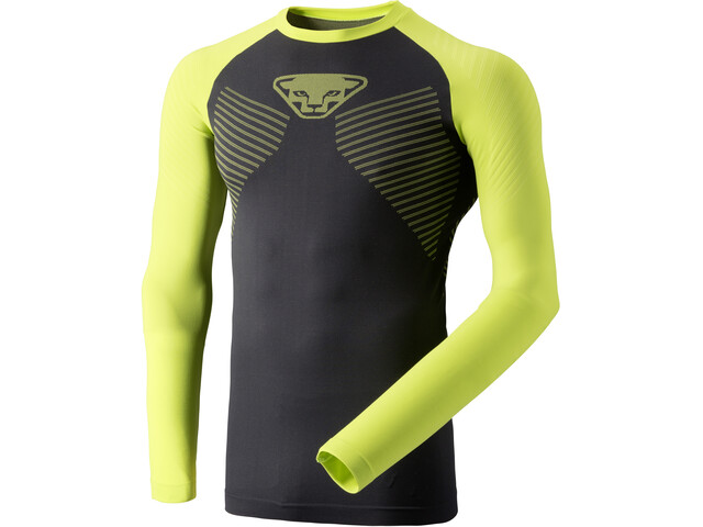 Dynafit Speed Dryarn Maillot manga larga Hombre, lime punch